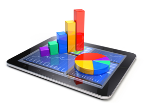 charts representing online survey tools