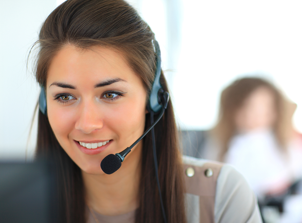 Rep offers customer satisfaction survey over the phone